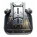 Traktorsitz / Schleppersitz Star 07BS schwarz mit Armlehne