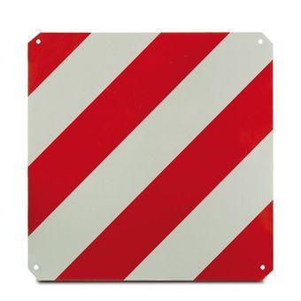 Warntafel rot-weiß 50 x 50 cm hochreflektierend