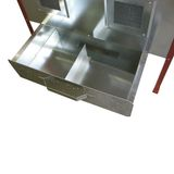Kalträucherschrank Räucherschrank Räucherofen Stahlblech räuchern 79x150x51 cm