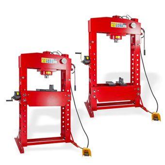 Werkstattpresse 75 Tonnen manuell / pneumatisch WP75HPF – Bild $_i