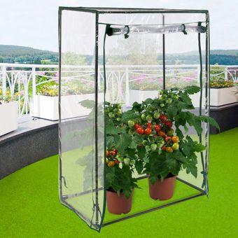 Tomaten Gewächshaus / Foliengewächshaus 100/50/150cm – Bild $_i