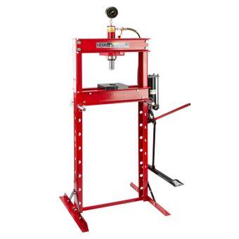 SET 20 Tonnen Werkstattpresse manuell / Pedal + Druckstücke Satz 10 tlg – Bild $_i