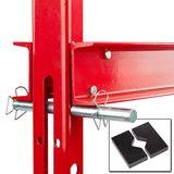 SET 20 Tonnen Werkstattpresse manuell / Pedal + Druckstücke Satz 10 tlg