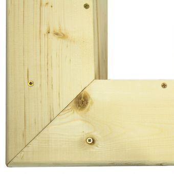 Sandkasten / Sandspielkasten aus Holz mit Abdeckung – Bild $_i