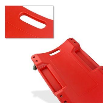 Vintec Montagerollbrett / Montageliege mit 6 Laufrollen, bis 120 kg, 103cm – Bild $_i