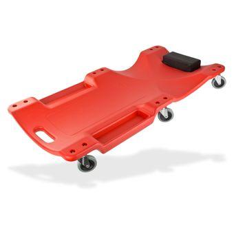 Vintec Montagerollbrett / Montageliege mit 6 Laufrollen, bis 120 kg, 103cm
