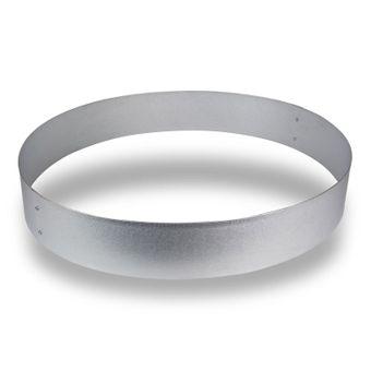 Rasenkante Metall rund 80x20 cm mit hochwertiger Alu Verzinkung – Bild $_i