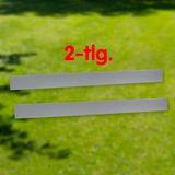 Rasenkante Metall rund 120x13 cm mit hochwertiger Alu Verzinkung