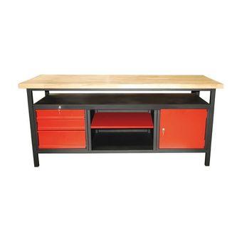 Werkbank / Werktisch XL 1700 Türe / Schubladen / Ablage – Bild $_i