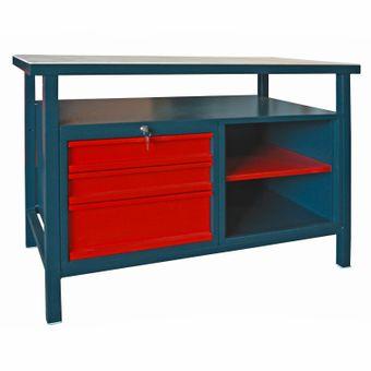 Werkbank / Werktisch 3 Schubladen 1 Ablagefach