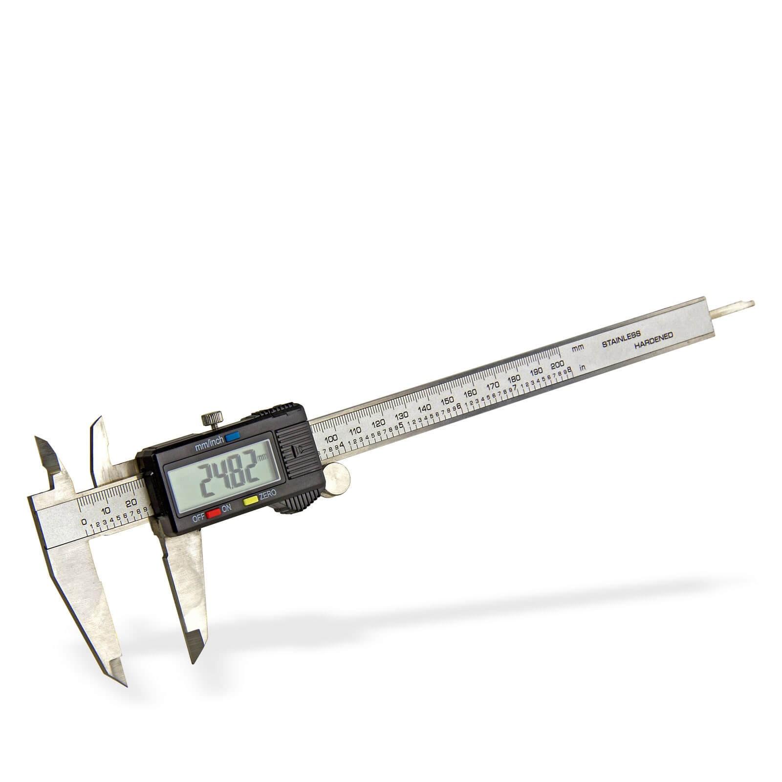 Dema Digitaler Messschieber Schieblehre 200mm Mikrometer 20718