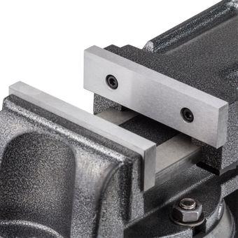 Präzissions Schraubstock / Klemmstock 125 mm Backenbreite – Bild $_i