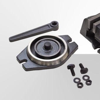 Präzisions Schraubstock Klemmstock 100 mm Backenbreite Maschinenschraubstock – Bild $_i