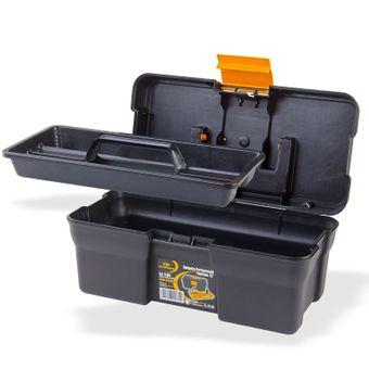 Werkzeugkasten Werkzeugkiste mit Kleinteilemagazin 340x180x150 mm – Bild $_i