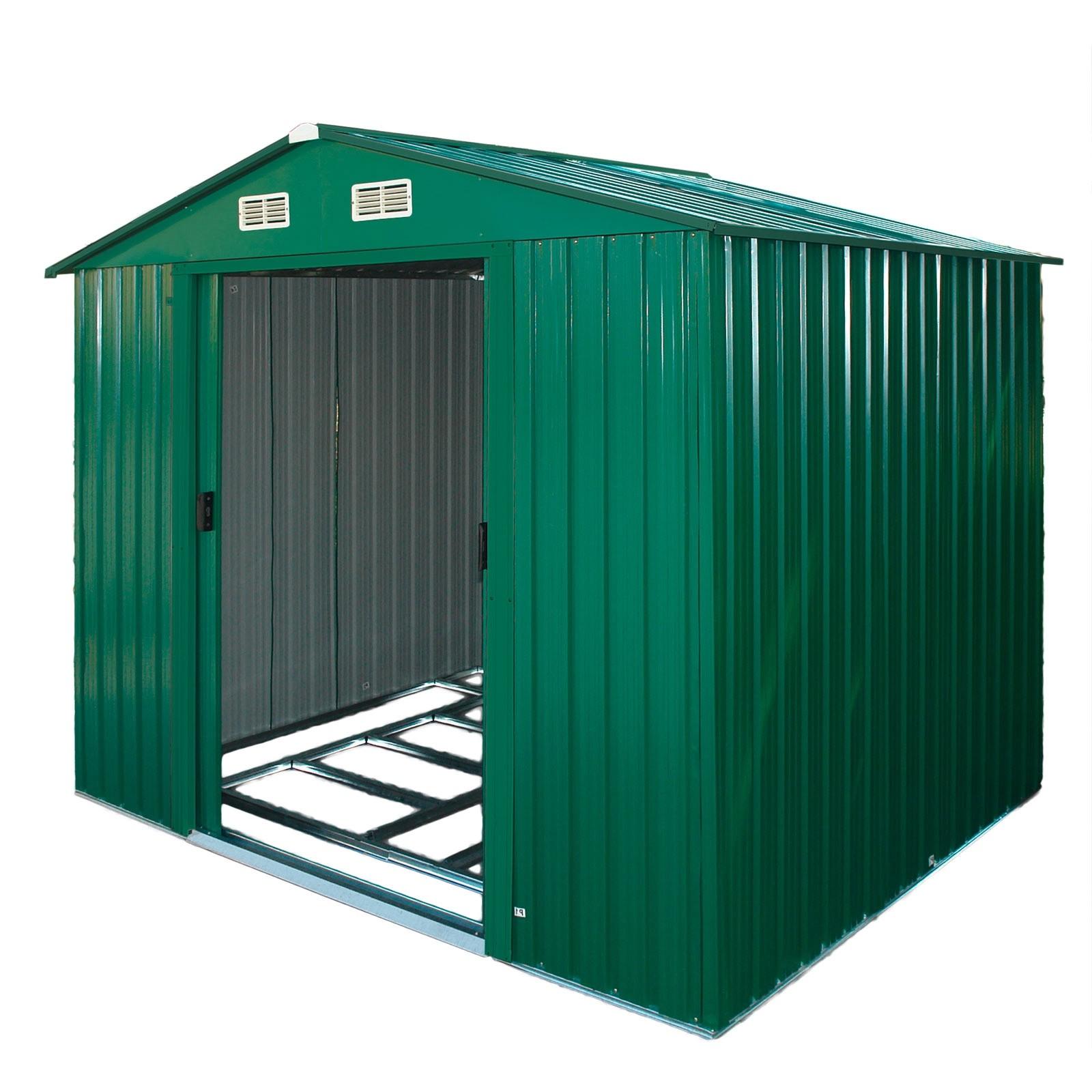 Dema Gerätehaus / Gartenhaus metall - verschiedene Größen var-gerätehaus