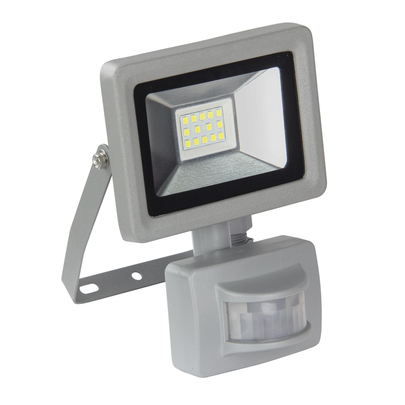 Dema LED-Strahler mit Bewegungsmelder 230V 10W Baustrahler Strahler 90533