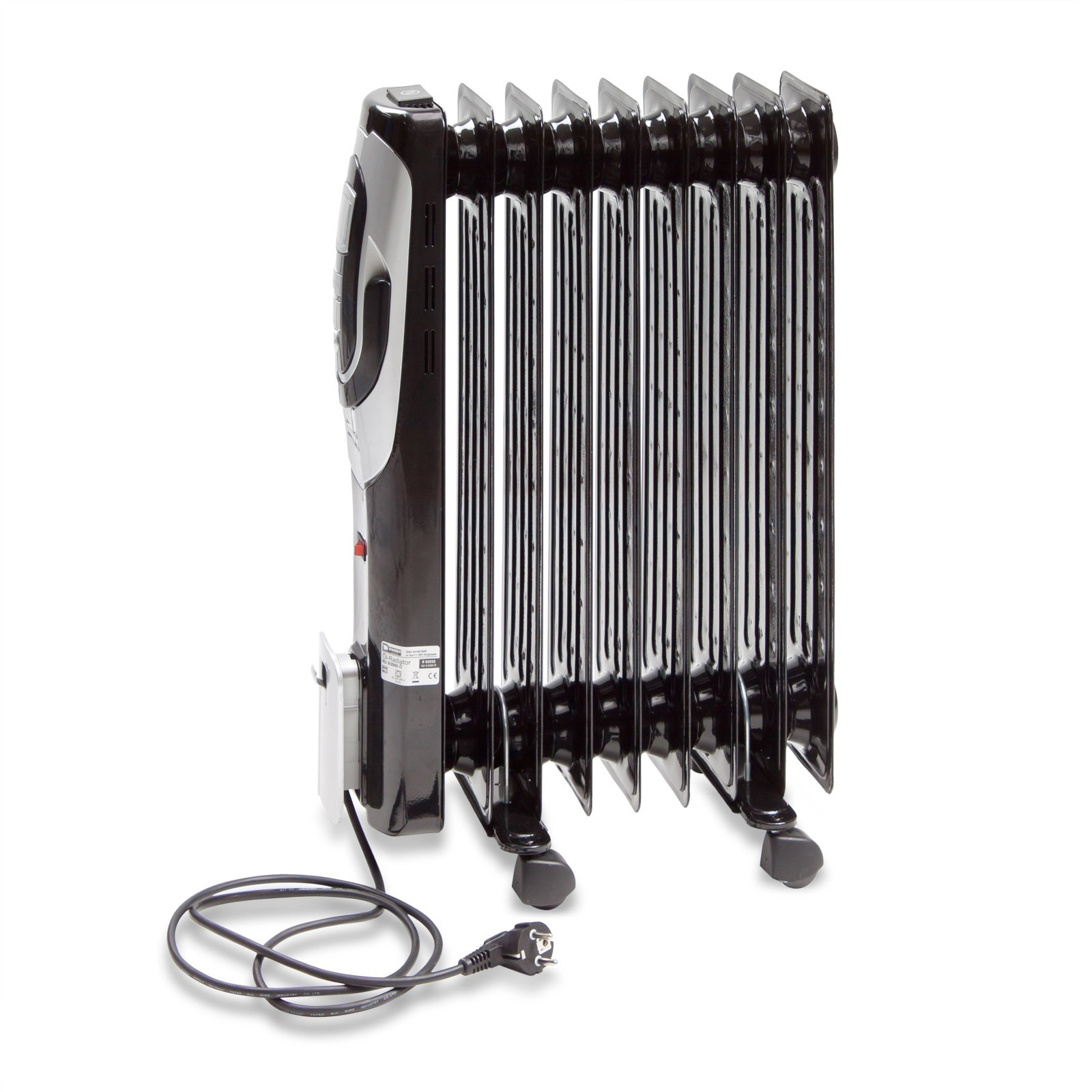 lradiator elektroheizung 9 rippen 2000 watt. Black Bedroom Furniture Sets. Home Design Ideas