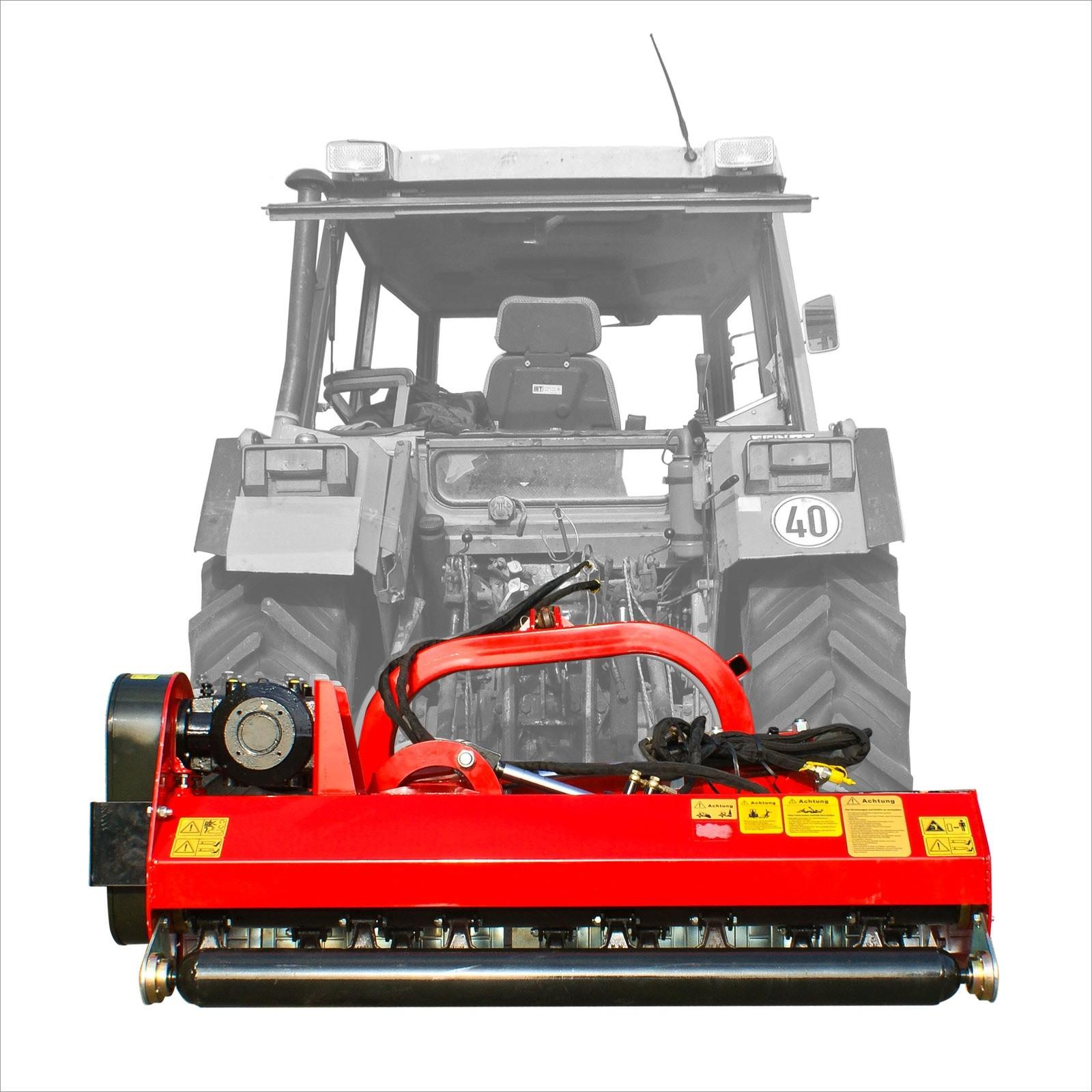 Dema Versatz Mulcher / Schlegelmulcher 125 cm SLM125S mit Hammerschlegel 67823