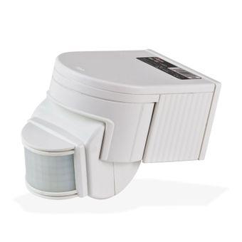 Bewegungsmelder BM 180° Kunststoff weiß