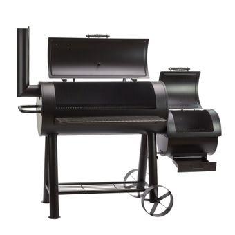 Smoker / Grillwagen SAN-ANTONIO-XXL 76 kg Gartengrill Barbecue – Bild $_i