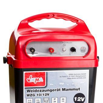 Weidezaungerät MAMMUT-WZG-10 Elektrozaun / Weidezaun 12 Volt – Bild $_i