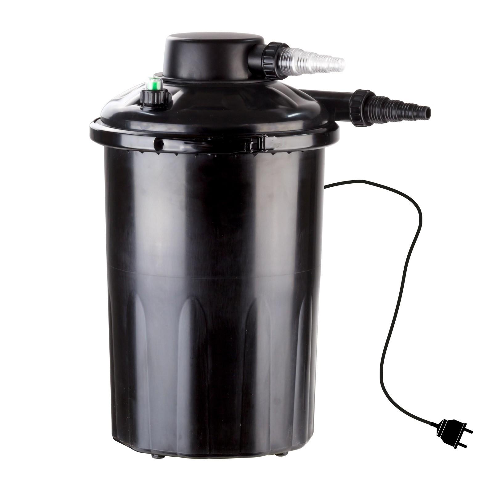 Dema Teichfilter Wasserfilter Filter Klärer biologisch 12000 L TF12000UV mit UV Licht 30988