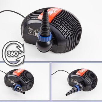 Energiespar Teichfilterpumpe Eco 15000 L/h Teichpumpe Gartenteichpumpe Pumpe – Bild $_i