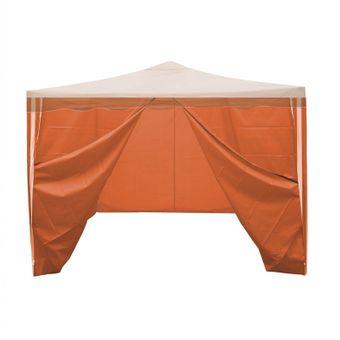 Seitenverkleidung 4 x orange 2.9x1.9 m für Faltpavillon 3x3 m – Bild $_i