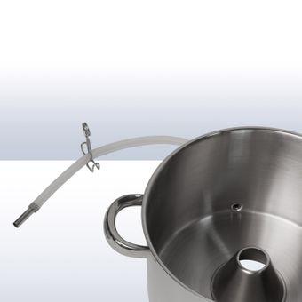 Dampfentsafter DS4300 aus Edelstahl mit integriertem Kochtopf-Set – Bild $_i