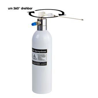 Wiederbefüllbare Alu Druckluft Spraydose 600 ml – Bild $_i