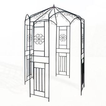 Metall Pavillon / Gartenpavillon Wien 160x160x250 cm – Bild $_i