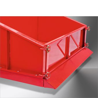 Heckcontainer / Heckmulde Basic 150 cm mechanisch pulverbeschichtet – Bild $_i