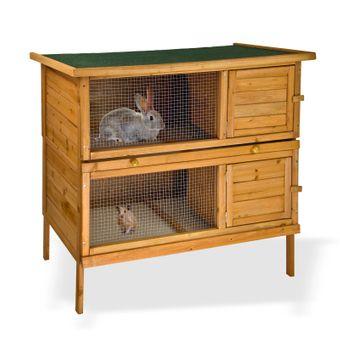 Kaninchenstall / Hasenstall ECO 2 – Bild $_i