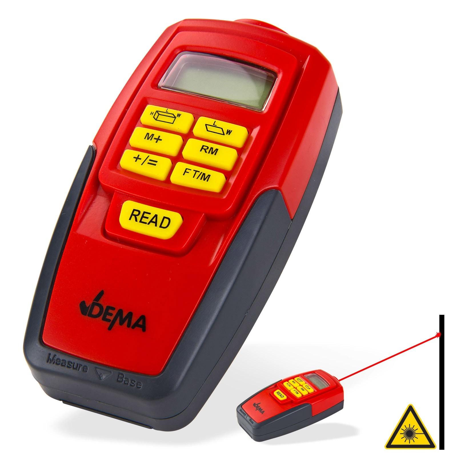 Dema 3 in1 Ultraschall Messgerät Ultraschallmessgerät Entfernungsmesser MG-100D 94222