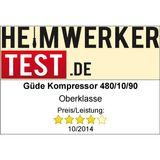 Güde Kompressor / Kolbenkompressor Airpower 480/10/90 1.84kW 230V