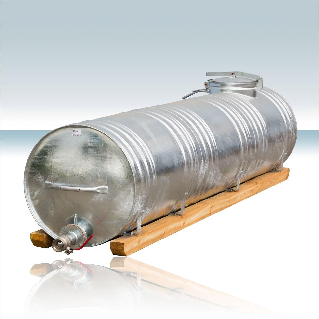 Berühmt Wasserfass / Wassertank Stahl Feuerverzinkt 1000 Liter #LN_95