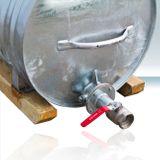 Wasserfass / Wassertank Stahl Feuerverzinkt 1000 Liter