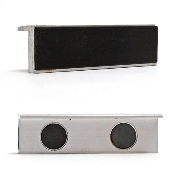 Dema Alu Schutzbacken Prismenbacken Schonbacken 100 mm magnetisch für Schraubstock 19978