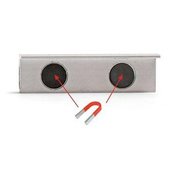 Schutzbacken / Prismenbacken 100 mm gummiert für Schraubstock – Bild $_i