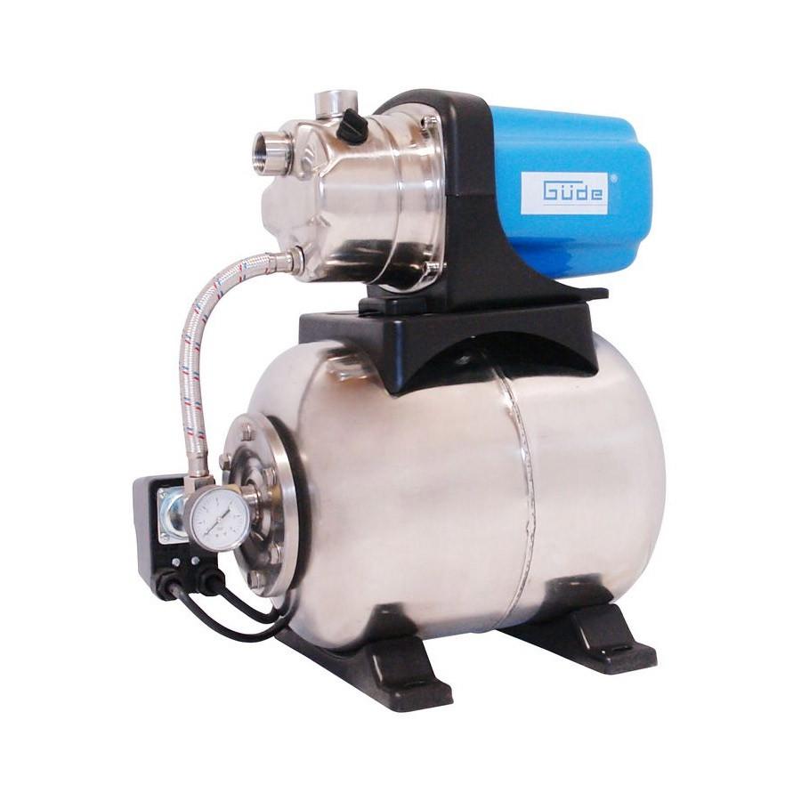 Güde Hauswasserwerk HWW1000P 3500 l/h 1 kW mit 20l Druckkessel 06026