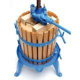 Obstpresse / Beerenpresse BP 45 Liter mit Holzkorb