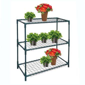 metall pflanzenregal blumenregal 72x33x75 cm. Black Bedroom Furniture Sets. Home Design Ideas