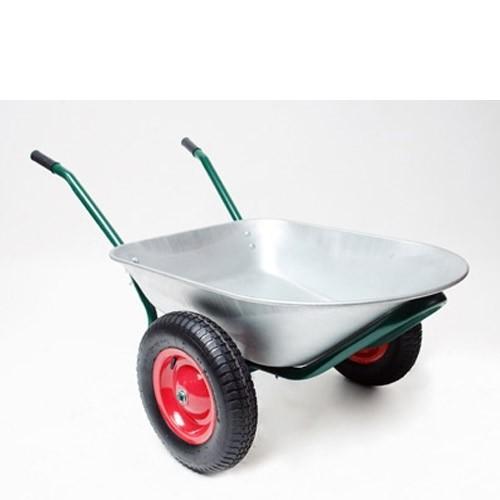 Dema Schubkarre Schuttkarre Bauschubkarre Gartenschubkarre 2 Räder 80 Liter 150 kg 20450