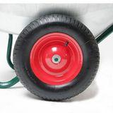 Schubkarren mit 2 Rädern 80 Liter / 150 kg