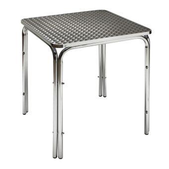 Aluminium Gartentisch Bistrotisch Twin 800 Beistelltisch Balkontisch