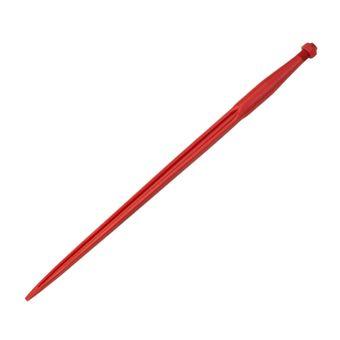 Frontladerzinken 22 x 1,5 / 810 mm, rot lackiert – Bild $_i