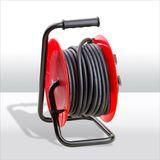 Kabeltrommel / Verlängerungskabel HO5RR-F 3Gx1,5 mm² 4-fach 10 m