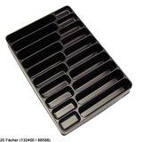 Sortierkasten / Werkzeugkasten FACH-EINTEILER 33 x 23 x 4.5 cm