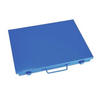ADB Sortimentskasten / Sortierkasten Metall 33x23x5 cm Metallbox – Bild $_i