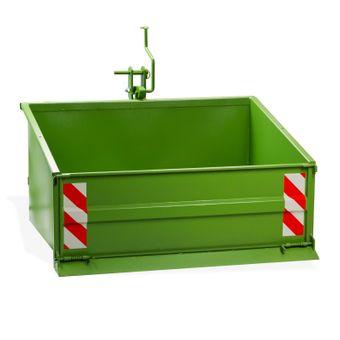 Heckcontainer / Heckmulde 1200S grün mechanisch bis 800kg Kat 1 + 2 – Bild $_i